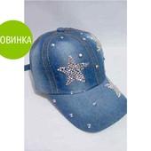 Джинсовая женская кепка