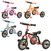 Детский трехколесный велосипед-самокат M 0688-2