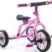 Детский трехколесный велосипед-самокат M 0688-2 цвета в ассортименте