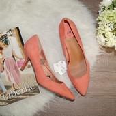 (40р./26,5см) H&M! Шикарные туфли-лодочки