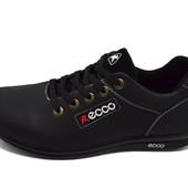 Кроссовки Ecco Howell 36 черные (реплика)