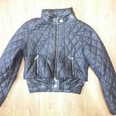 Стильная курточка от roberta biagi. италия.кожа наппа
