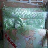 Комплект постели в детскую кроватку Asik