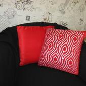 Наволочка на диванную подушку - подушка декоративная/ гламур блеск шик