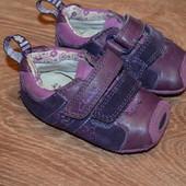 Ботиночки пинетки Clarks 2 F р., 11 см
