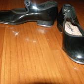 Фирменная обувь для танцев степовки туфли Capezio 17см стелька