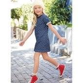 Джинсовые платье в горох I Love Next 3-4,5-6 лет