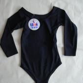 Купальник для занятий гимнастикой трико девочке 3-4 лет