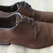 Кожаные туфли фирмы Burton р.43-28см.
