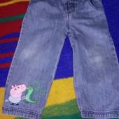 джинсы на 2-3 года Свинка Джордж Пеппа