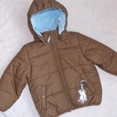 Куртка H&M теплая 4-5 лет