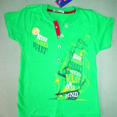 Детская футболка рр. 104-134 Beebaby (Бибеби)