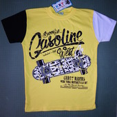 Детская футболка для мальчиков рр. 104-128 Beebaby (Бибеби)