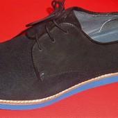 37 - 42 Замшевые немецкие туфли Bonaparte