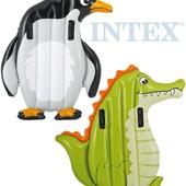 """Надувной плот Intex 58151 """"Животные"""", 2 вида: 114х112см"""