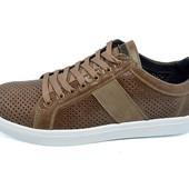 Мужские мокасины с перфорацией Multi Shoes Solo