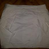 Хлопковая мини юбка от benetton! p.-40