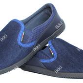 Современные мужские летние джинсовые мокасины (БЛ-16с)