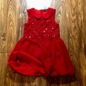 Красивое платье George на 5-6 л.