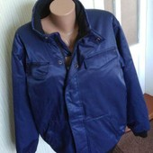 зимня синя стильна куртка