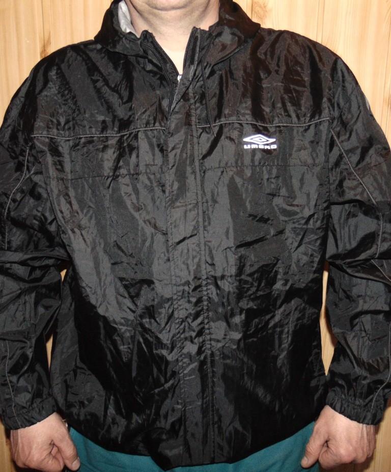 Спортивная курточка термо ветровка бренд Umbro.хл-2хл фото №1