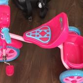 Велосипед трёхколёсный Peppa Pig 1Toy, пеппа, велик, свинка, девочки, трьохколісний