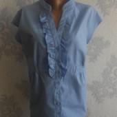Хлопковая блузка F&F в идеальном состоянии Батал