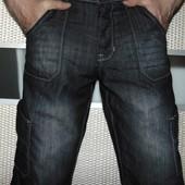 Стильние фирменние брендовие капри шорти бриджи  Denim Co (Деним Ко).л .34