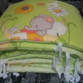 Бортик(защита)для детской кроватки