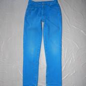 р. 152-158, яркие и модные джинсы узкачи George скинни слимы