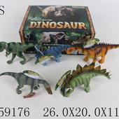 Динозавры 5 видов,