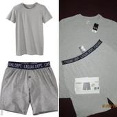 Комплект базовая футболка и шорты трусы боксеры Livergy Германия, евро L