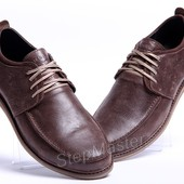 Туфли кожаные Levis Ontario Brown
