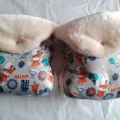Муфты-рукавички снеговики