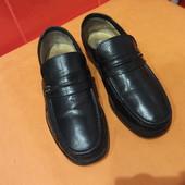 Туфли мужские р. 41 (7) Claudio Conti, натуральная кожа.