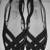 Туфли открытые, босоножки жен. 100% нат. нубук Salamander Германия большой размер 43,5