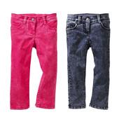 86-92р Джинсы узкие стрейч Lupilu штаны брюки узкачи