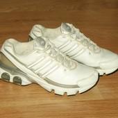 Adidas (25 см) кожаные кроссовки для девушки