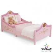 KidKraft Детская кроватка кровать Принцесса для девочки princess toddler bed 76139