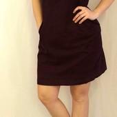 1115 Вельветовое платье на подкладке Boden