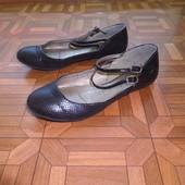 балетки туфли р.37-38 стелька 24.5 см.в хорошем состоянии