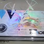 Квадролет р/у с USB, гироскопом., аккум., свет., видео камера, X-1501