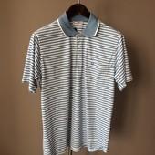 Мужская футболка гол+белый