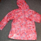 Куртка, плащ - дождевик на флисе от ТСМ Германия р.122-128, 134-140