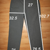 мужские брюки р. 32R, Burton