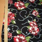 Ткань с розами и паетками хамелеон.. 50*38 и 78*40