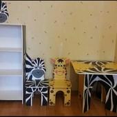 Детский столик комплект