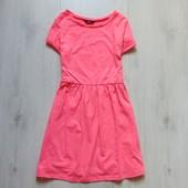 Яркое платье для девушки. F&F. Размер 8 (S). Состояние: идеальное
