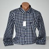Рубашка мужская. Длинный рукав. S-XXL