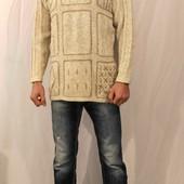 1046 Светлый вязанный свитер Debbie Morgan
